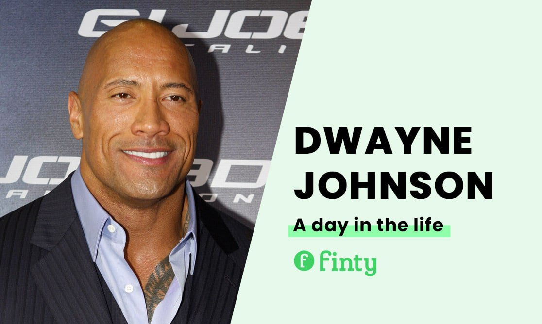 Dwayne Johnson's daily routine