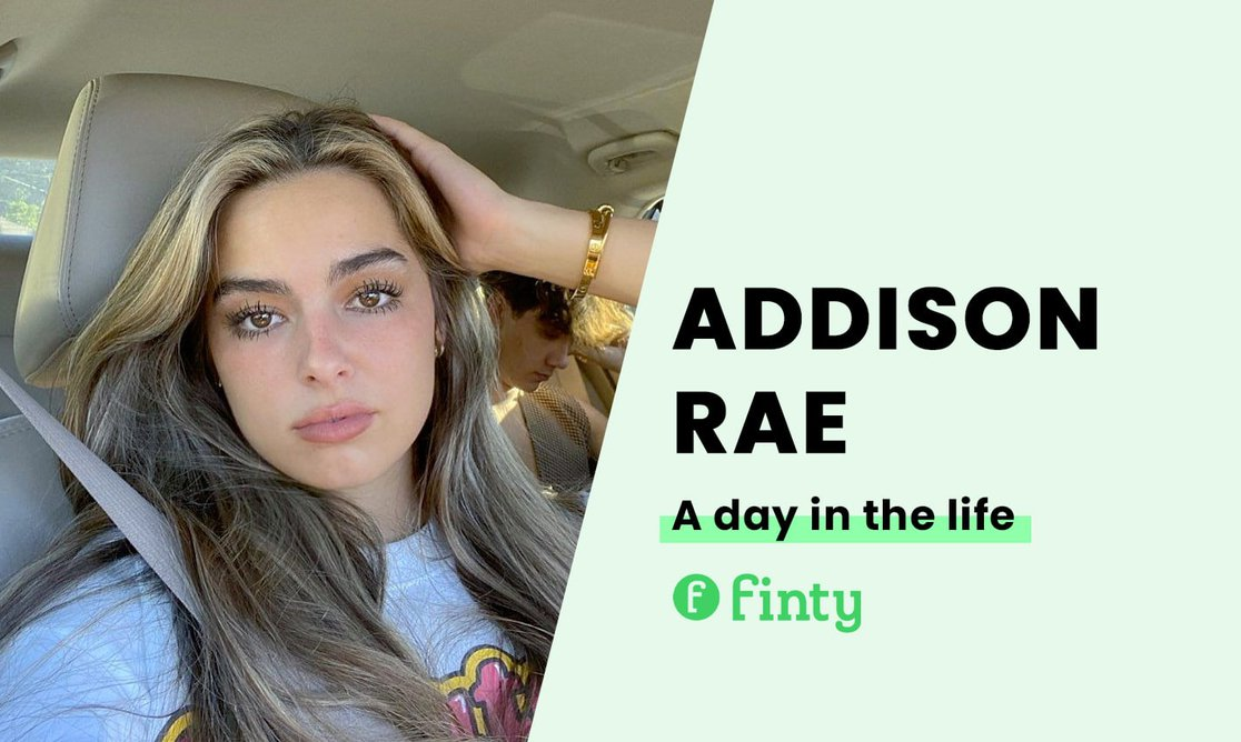 Addison Rae's daily routine