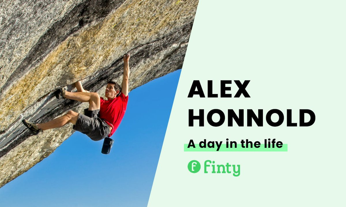Alex Honnold's daily routine