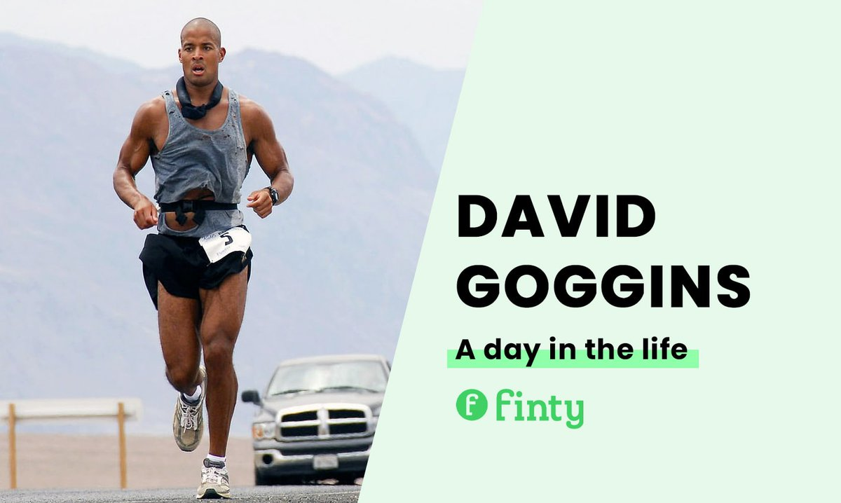 David Goggins' daily routine