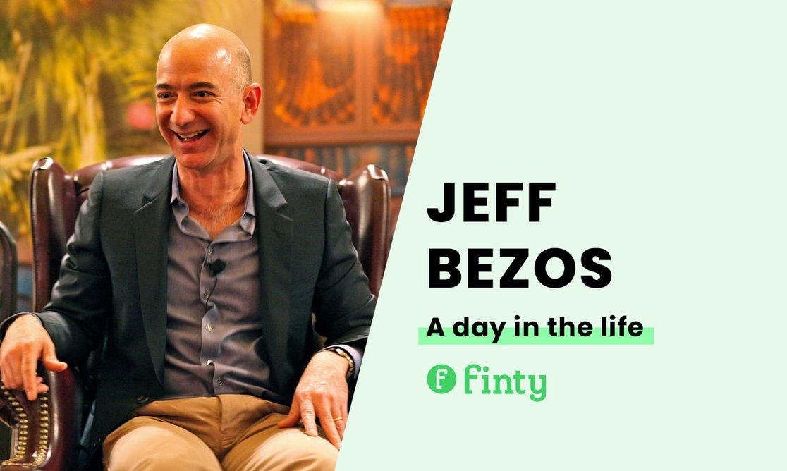 Jeff Bezos' daily routine
