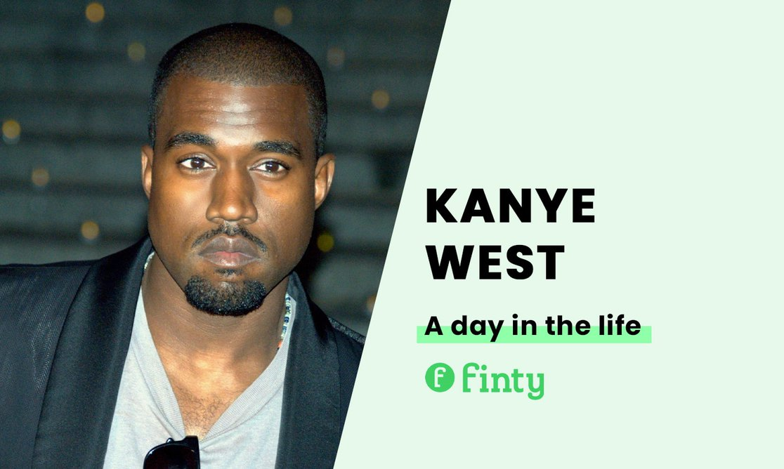 Kanye West's daily routine