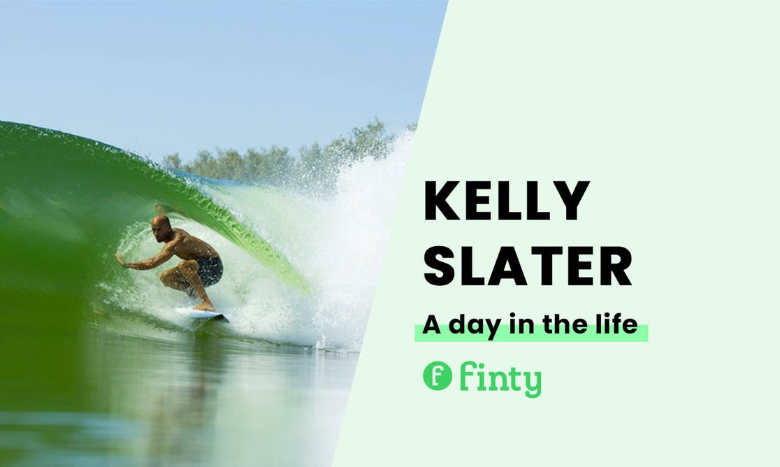 Kelly Slater's daily routine