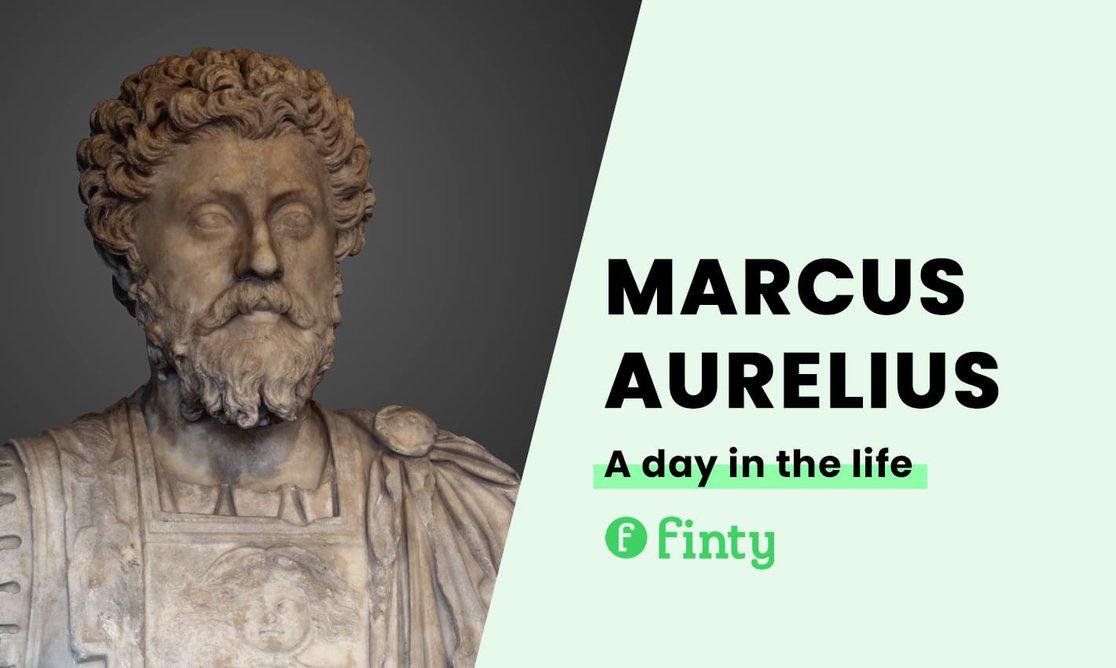 Marcus Aurelius' daily routine