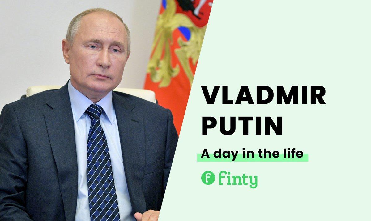 Vladamir Putin's daily routine