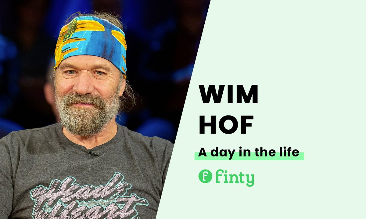 Wim Hof's daily routine