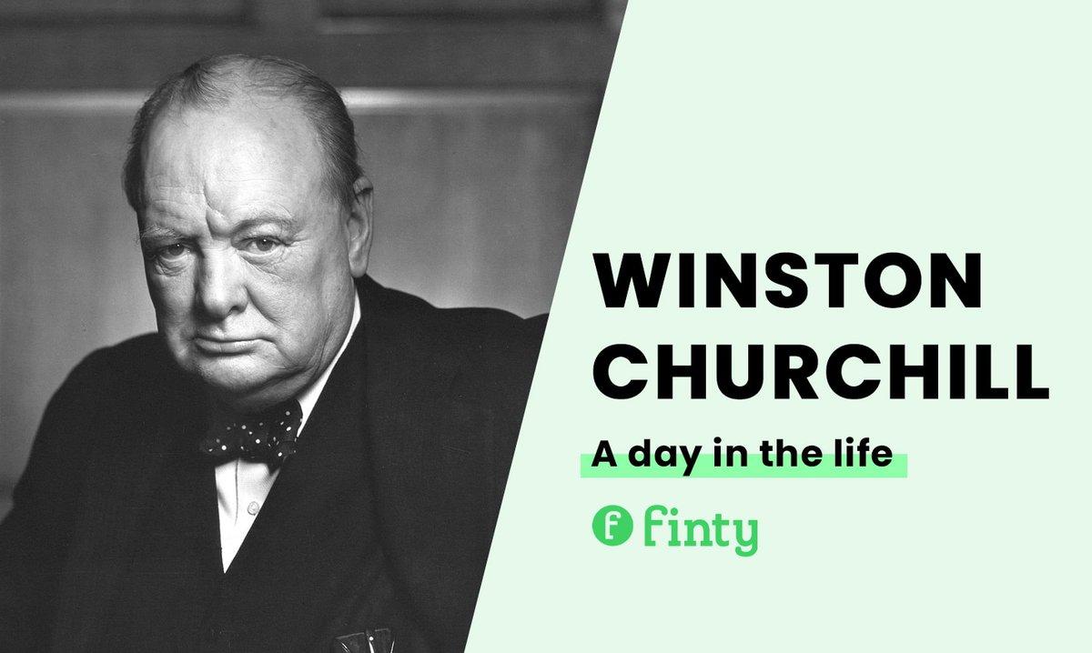 Winston Churchill's daily routine